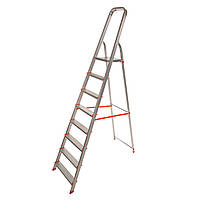 Стрем'янка алюмінієва Laddermaster Alcor A1A8. 8 сходинок