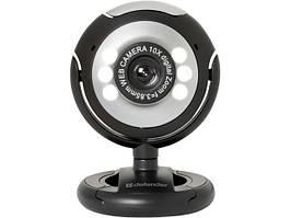 Web-камера Defender C-110 0.3 МП підсвітка USB №63110