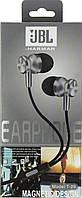 Навушники вакуумні JBL T-29 (гарнітура) grey+мікрофон