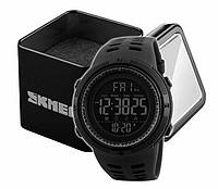 Наручные мужские спортивные электронные часы Skmei 1251 черные, фото 1