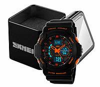 Годинники наручні чоловічі спортивні аналогово-цифрові Skmei 0955