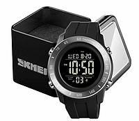 Часы Skmei 1524 наручные мужские цифровые спортивные черные, фото 1