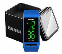 Наручний чоловічий спортивний цифровий годинник Skmei 1364 синій