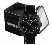 Наручные мужские классические часы Skmei 9169 черные