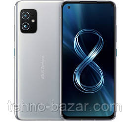 Смартфон ASUS ZenFone 8 ZS590KS 16/256GB Dual Sim Horizon Silver   Qualcomm Snapdragon 888 4000 мАч