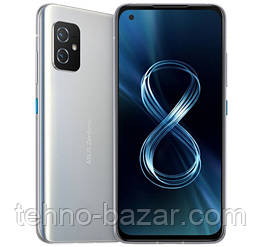 Смартфон ASUS ZenFone 8 ZS590KS 8/256GB Dual Sim Horizon Silver   Qualcomm Snapdragon 888 4000 мАч