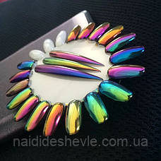 "Втирка-пудра ""Хамелеон"" для дизайна ногтей - Chameleon Powder (Fine), фото 2"