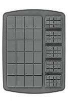 Форма силиконовая плитки шоколада ассорти