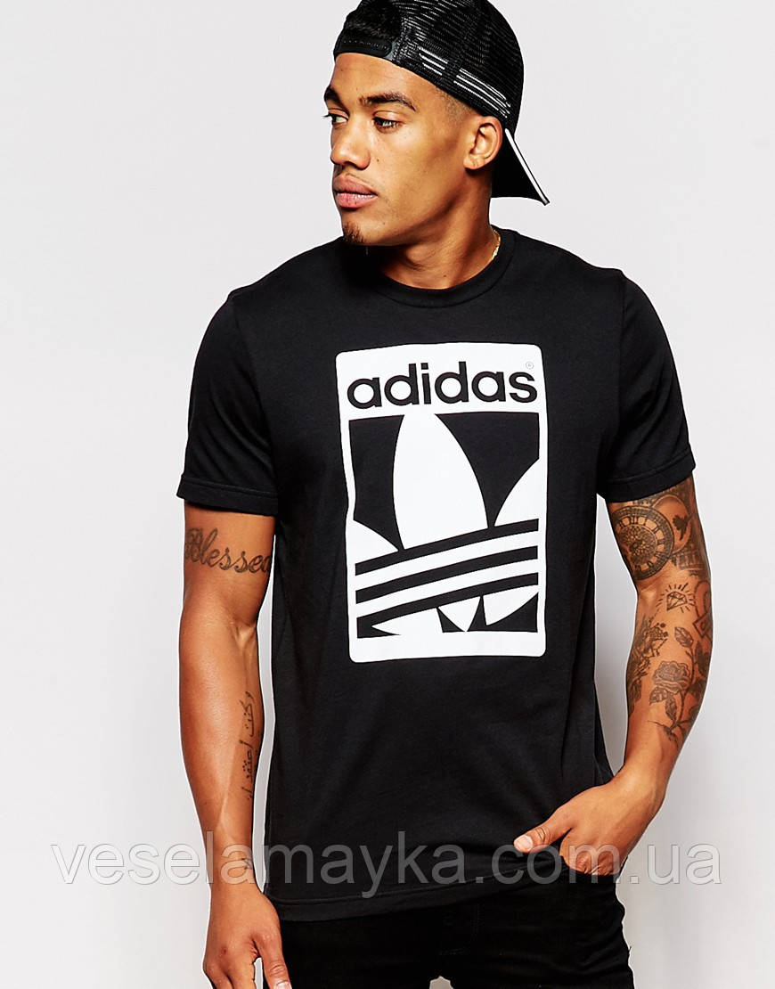 "Футболка с логотипом ""Adidas"" (Адидас)"