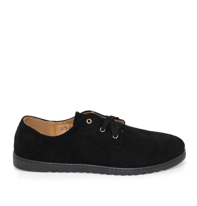 Чоловічі туфлі замшеві чорні чоловічі туфлі черевики