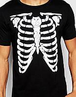 """Оригинальная мужская футболка """"Склет"""" L"""