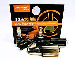 Автолампи LED світлодіодні Aozoom L8 НIR2 9012 90Вт Canbus 7600Лм 12В