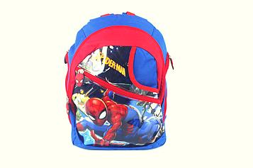 Рюкзак детский 'Spiderman',Человек-паук L 35x25x12см с уголком