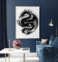 Декоративное панно Дракон