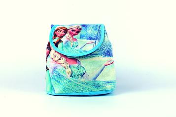 Рюкзак-мешок детский 'Frozen', Холодное сердце Ельза и Анна 22x22x12 см