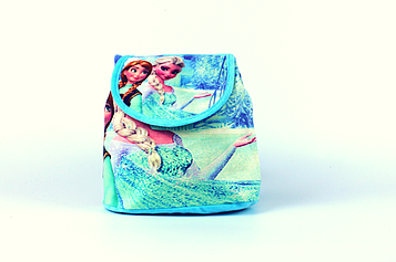 Рюкзак-мішок дитячий 'Frozen', Холодне серце Єльза і Ганна 22x22x12 см