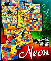 Тетрадь 48л, набор 10 предметных тетрадей, УФ-лак, Тетрада, 495508