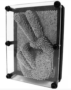 Пін арт Гвоздики 3D металевий великий 20 см експрес-скульптор Pinart 3D скульптор 20см*15см*4см