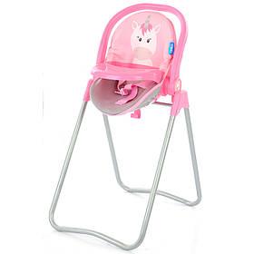 Стільчик для годування для ляльок Hauck D-93006 Рожевий Єдиноріг