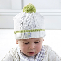Детская вязаная шапка (12-18 мес), Natures Purest