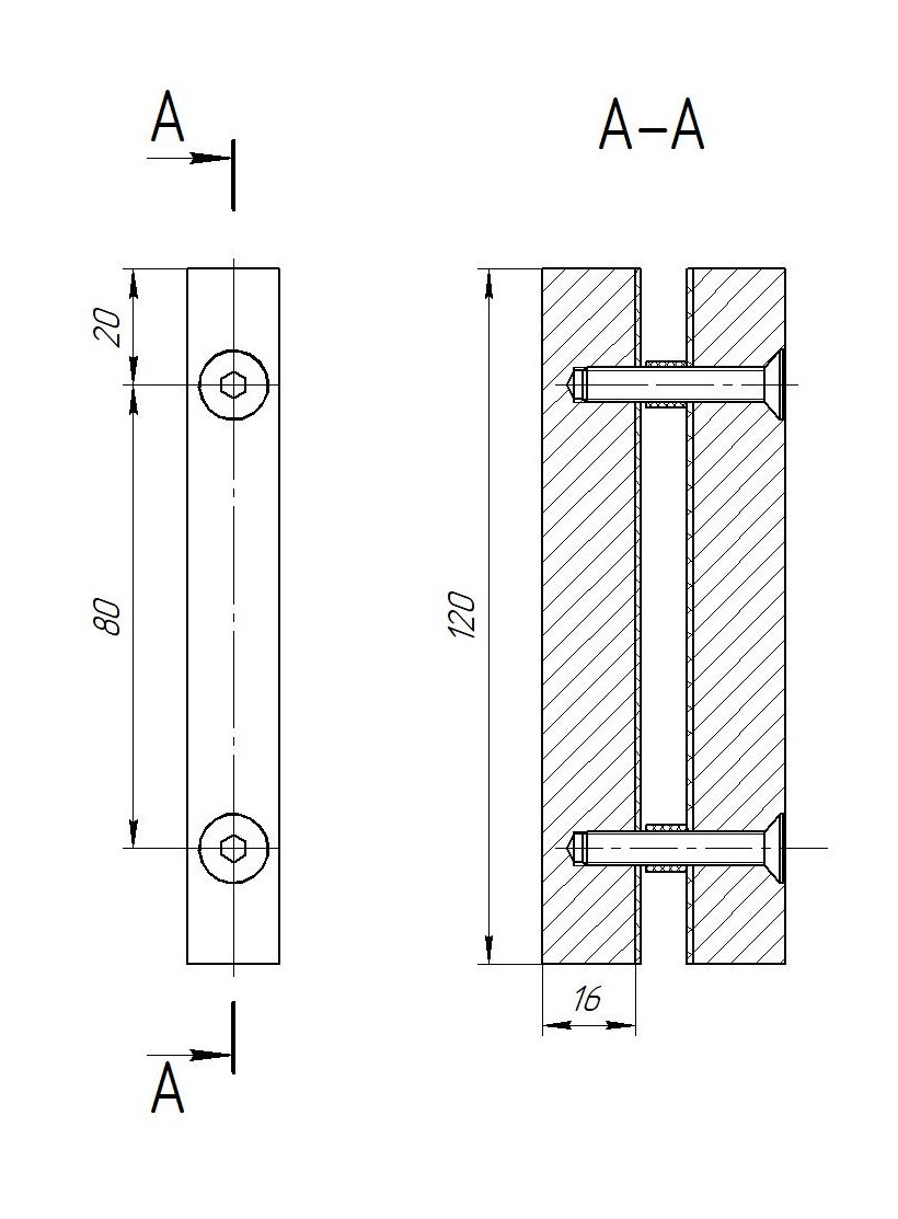 ODF-07-03-01 Ручка полоска, сатин