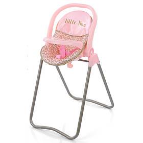 Стільчик для годування для ляльок Hauck D-93086 Рожевий