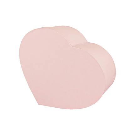 Коробка сердце (23*18*10 см) кремовая, фото 2