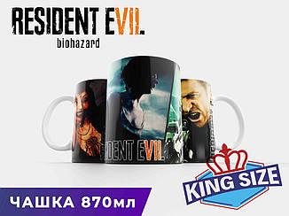 """Большая чашка Обитель Зла """"Personages"""" / Resident Evil"""