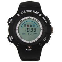 Спортивные часы All The Way с электронным компасом и GPS навигатором для путешествий