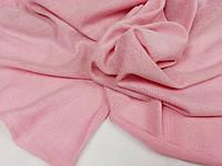 Розовий. Ткань трикотажная ангора, плетение ровное , гладкое, фото 1