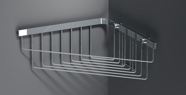 Полка для ванной 25 x 25 см глубокая