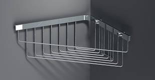 Полка для ванной 23,5 x 23,5 см глубокая