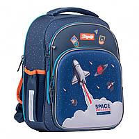 Рюкзак шкільний S-106 Space синій 1Вересня