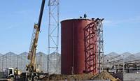 Силос и ёмкость из нержавеющей стали от производителя, емкость 5000м3 м.куб, изготовление емкостей и резервуар