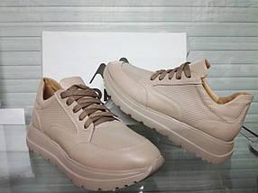Жіночі бежеві кросівки Morento 0307, фото 2