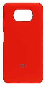 Силікон Xiaomi POCO X3/POCO X3 Pro orange Silicone Case
