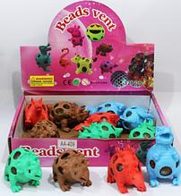 ОПТ!! Антистресс игрушка Динозавр с орбиз  12 шт в уп.