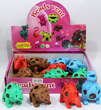Антистресс игрушка Динозавр с орбиз