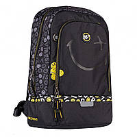 Рюкзак TS-79 Smiley World.Black&Yellow чорний Yes