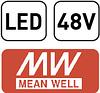 Блок живлення для магнітних трекових систем MEAN WELL 150W 48V, фото 2