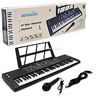 Детский пианино, орган-синтезатор BD MUSIC, от 3 лет, 68*20*5 см, (BD601/602)
