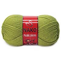 """Пряжа Nako Nakolen """"23107"""" Полушерстяная для Ручного Вязания"""