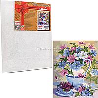 Картина по номерам Идейка «Цветочная поэзия» 40x50 см (КНО2049)