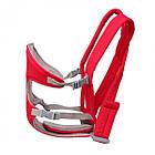 ОПТ Слинг-рюкзак для переноски ребенка Baby Carriers рюкзак-кенгуру сумка кенгуру от 3 до 12 месяцев красный, фото 7