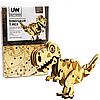 Деревянный конструктор Динозавр Тирекс «Unitywood», 49 деталей, 13,5*9*4,5 см (4820249160046)