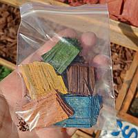 Зразки тріски 10 кольорів в пакетику А6