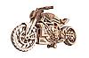 Дерев'яний конструктор Wood Trick Мотоцикл DMS, 203 деталі.Техніка складання - 3d пазл