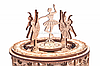 Дерев'яний конструктор Wood Trick Танцюючі балерини, 48 деталей.Техніка складання - 3d пазл