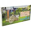 Деревянный механический конструктор Wood Trick Велосипед.Техника сборки - 3d пазл