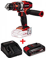 Набор ударный шуруповерт Einhell TE-CD 18/48 Li-i-Solo + зарядное устройство и аккумулятор 18V 2,5 Ah - Use